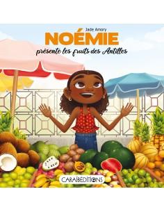 Noémie présente les fruits...