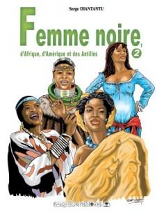 Femme noire d'Afrique,...